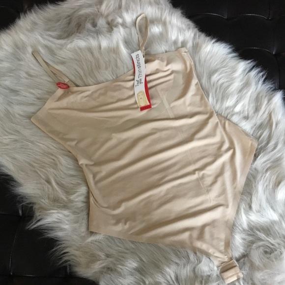 ea082b859a Spanx Thin-Stincts Thong Bodysuit Natural Size XL